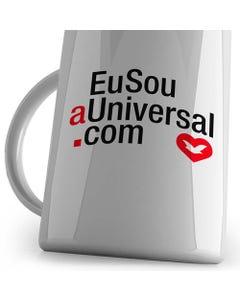 Caneca Eu Sou a Universal.com para canhotos