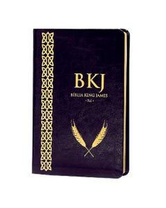 Bíblia King James Fiel 1611 - Luxo - Preta