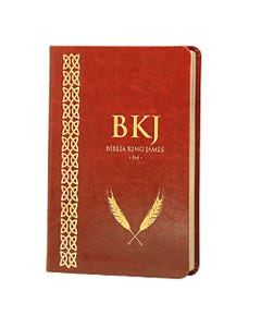 Bíblia King James Fiel 1611 - Luxo - Marrom