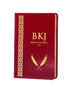 Bíblia King James Fiel 1611 - Luxo - Vinho