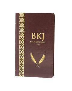 Bíblia King James Fiel 1611 - Ultrafina - Marrom