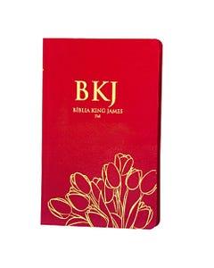 Bíblia King James Fiel 1611 - Ultrafina - Vermelha