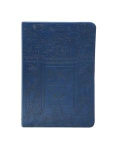 Bíblia King James Fiel 1611 - Grande - Letra Ultra Gigante - Azul