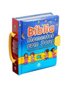 Bíblia Infantil Momentos com Deus