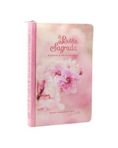 Bíblia ACF - Letra Grande -  Florida Rosa