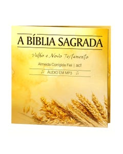 CD Bíblia Sagrada capa