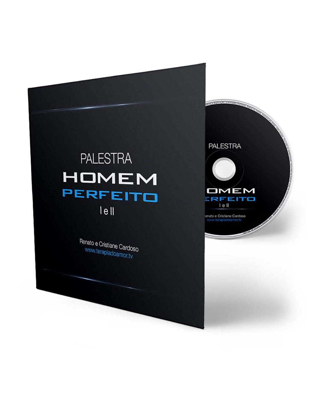 DVD Palestra Homem Perfeito