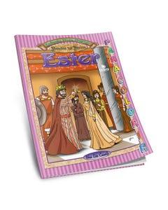 Série Heróis da Bíblia - Livro Gigante para Colorir - Ester