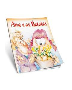 Livro Ana e as Batatas de Vera Lea Camelo