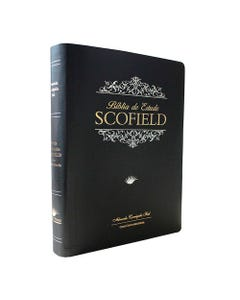 Bíblia de Estudo Scofield capa preta