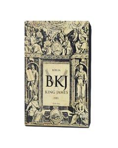 Bíblia King James Fiel 1611 - Ultrafina - Preta