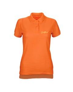 Camisa Polo GODLLYWOOD - Laranja