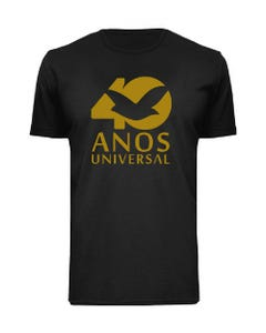 Camiseta masculina 40 anos Universal