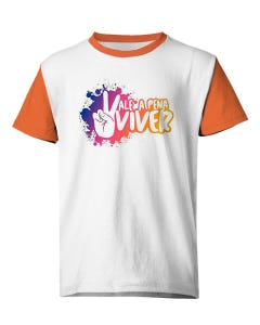 Camiseta Vale a Pena Viver Força Jovem Universal FJU