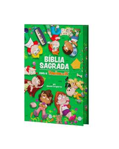 Bíblia Sagrada Turminha da Fé - Capa Dura