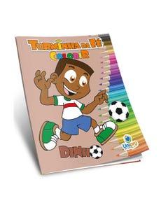 Livro de Colorir Turminha de Fé Dinho