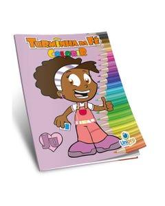 Livro de Colorir Turminha da Fé Ju