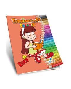 Livro de Colorir Turminha da Fé Luci