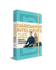 Diário do Amor Inteligente de Renato e Cristiane Cardoso capa azul