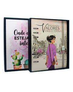 Livro Interativo Rosa - Edição de Luxo com Caixa Especial