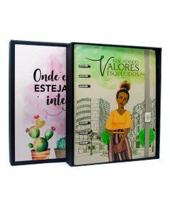 Livro Interativo Verde - Edição de Luxo com Caixa Especial