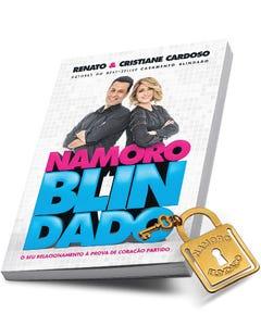 Kit Livro Namoro Blindado +Marcador de Páginas Dourado