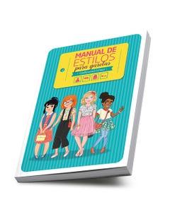 Livro Manual de Estilos para garotas Godllywood School capa
