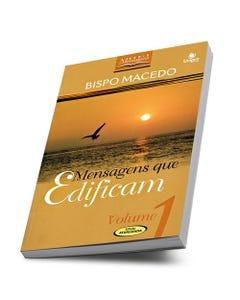 Livro Mensagens que Edificam Volume 1 do Bispo Edir Macedo