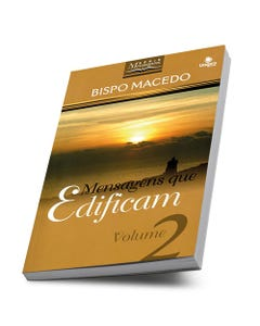 Livro Mensagens que Edificam Volume 2 do Bispo Edir Macedo
